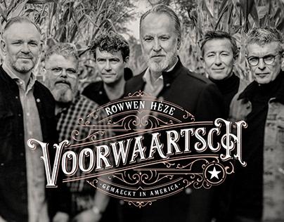 Graphic design and retouche for new album Rowwen Hèze.