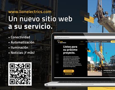 Branding Lion Electrics