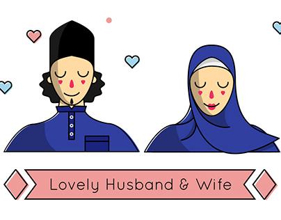 Malay Traditional Couple
