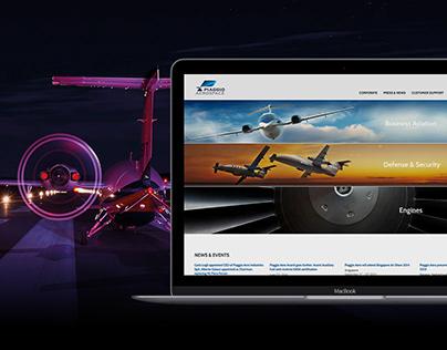 PIAGGIO AEROSPACE | Corporate & Website redesign