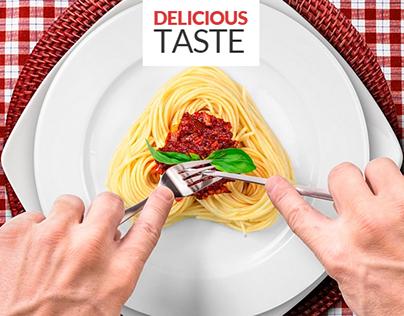 Delicious Taste Advertising Kit