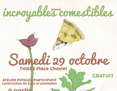 affiche incroyables comestibles