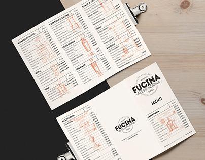 Fucina Alessandrina restaurant brand identity