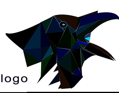 Polygonal logo design