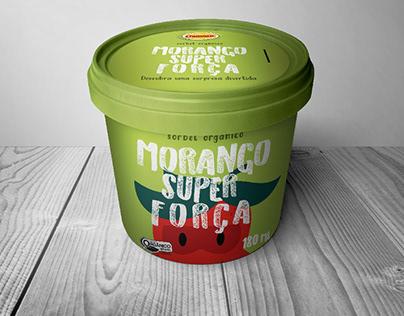 Linha de embalagens para sorvete orgânico