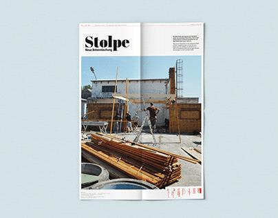 Stolpe - Neue Betonmischung No2