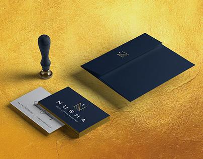 Luxury Real Estate Identity Design | NUSHA London