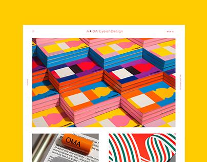 AIGA Eye On Design Website 2.0