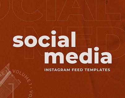 Instagram Feed Social Media Templates