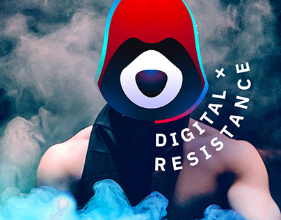 DIGITAL RESISTANCE logotype for Pavel Durov
