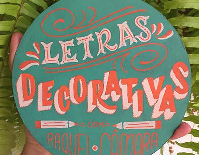 Oficina de Letras Decorativas-Edição Especial de Natal