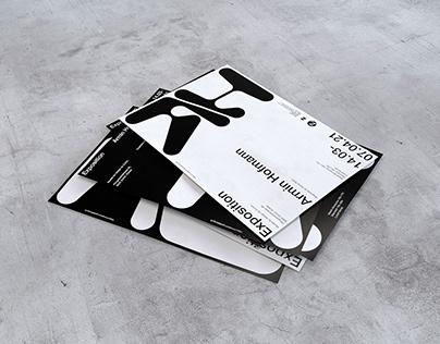 Affiches d'exposition sur Armin Hofmann.