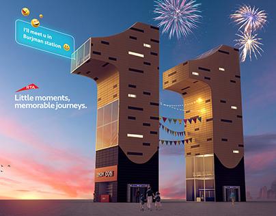 Dubai Metro 11 Years Anniversary