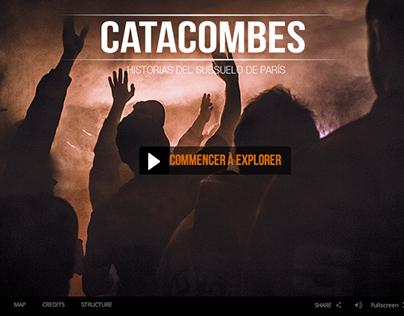 Catacombes, interactive webdoc