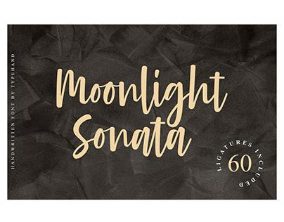 Moonlight Sonata - Modern Calligraphy Font