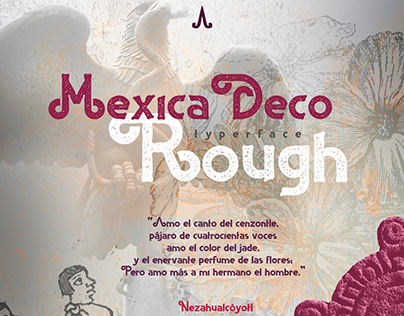 MEXICA DECO ROUGH TYPERFACE