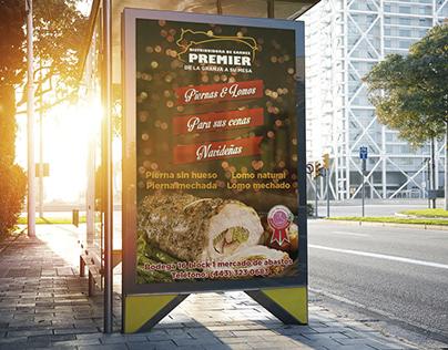 Branding Distribuidora de carnes Premier
