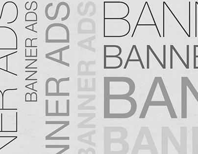 15 Sets of Banner Ads