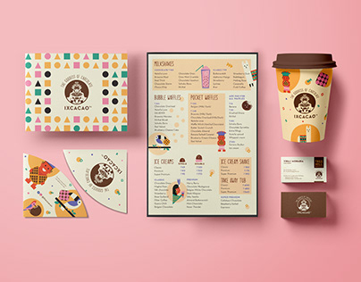 Ixcacao - Visual Identity, Menu & Packaging