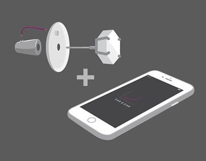 Ear 2 Ear App + Wearable Tech Concept