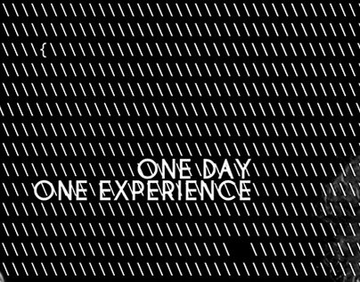 One Day, One Experience