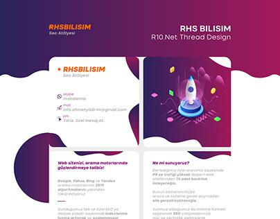 RHSBILISIM Thread Design