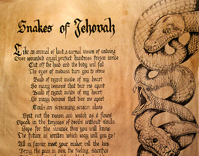 Snakes of Jehovah