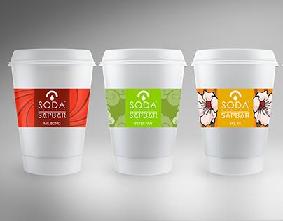 """Soda BodyFit - """"Sap Bar"""" Juice Label & Logo"""