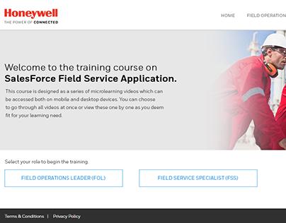 SalesForce Field Service Application Training Website