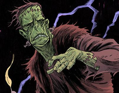 Frankendrawings (Sketches of Frankenstein's monster)