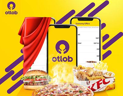 otlob app social media