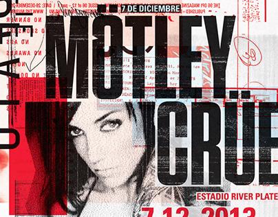 Mötley Crüe — Poster & Pressbook