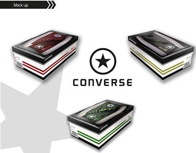 Proyecto packaging zapatillas Converse
