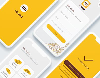 sIFood Mobile (UI Design)
