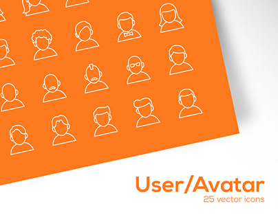 User / Avatar Icons