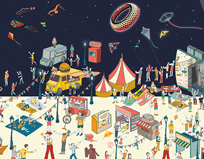 Kite Festival Singapore – An Advertising Campaign