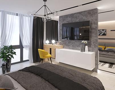 Дизайн квартири ЖК Юпітер