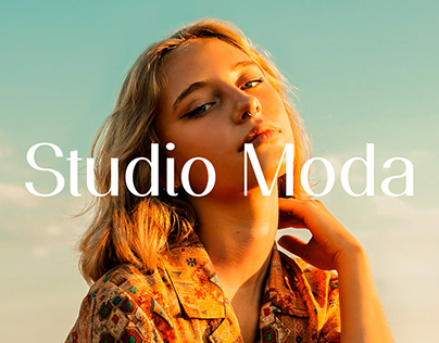 STUDIO MODA - Visual identity