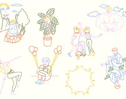 »Nietzsche zum Vergnügen« – eine illustrative Serie