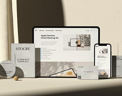 Branding Mockup Download, iPhone, iPad, A5 Letter, Etc.