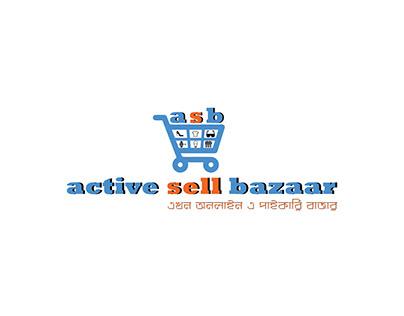 LOGO OF ACTIVE SELL BAZAAR
