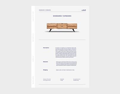 Habitables Catalogue Design