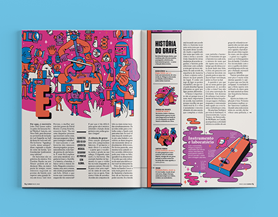 Bass History - Editorial Design