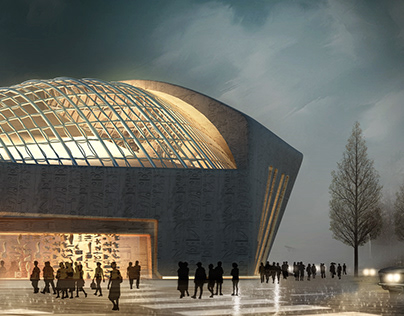 "Egyptology Culture Center ""ECC"" -- conceptual design"