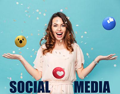 I care for eyes , social media designs