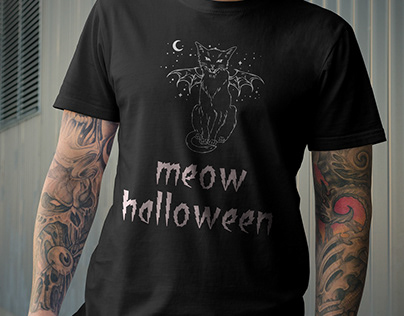 Halloween T-Shart Design - 2