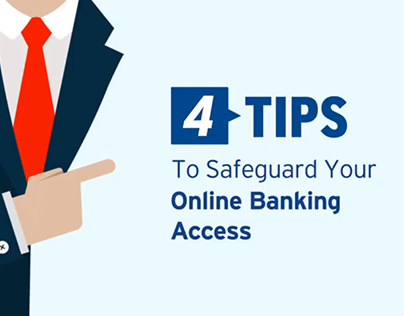 Motion Graphic: Citibank - Online Security Tips