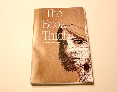 """Re-design of the """"The Book Thief"""" by Markus Susak"""