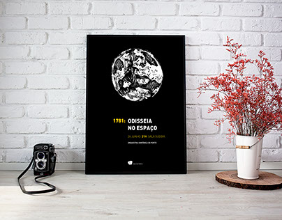 1781: Odisseia no Espaço - Poster Design