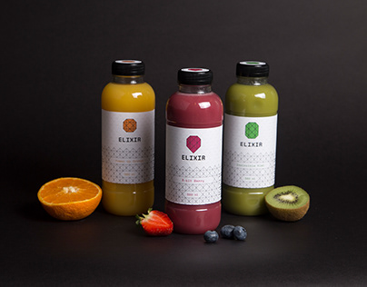 Elixir | Packaging for a juice brand
